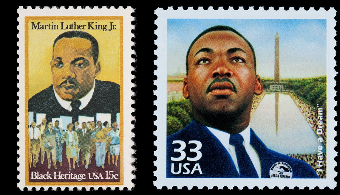Dr. Martin Luther King Jr. stamps