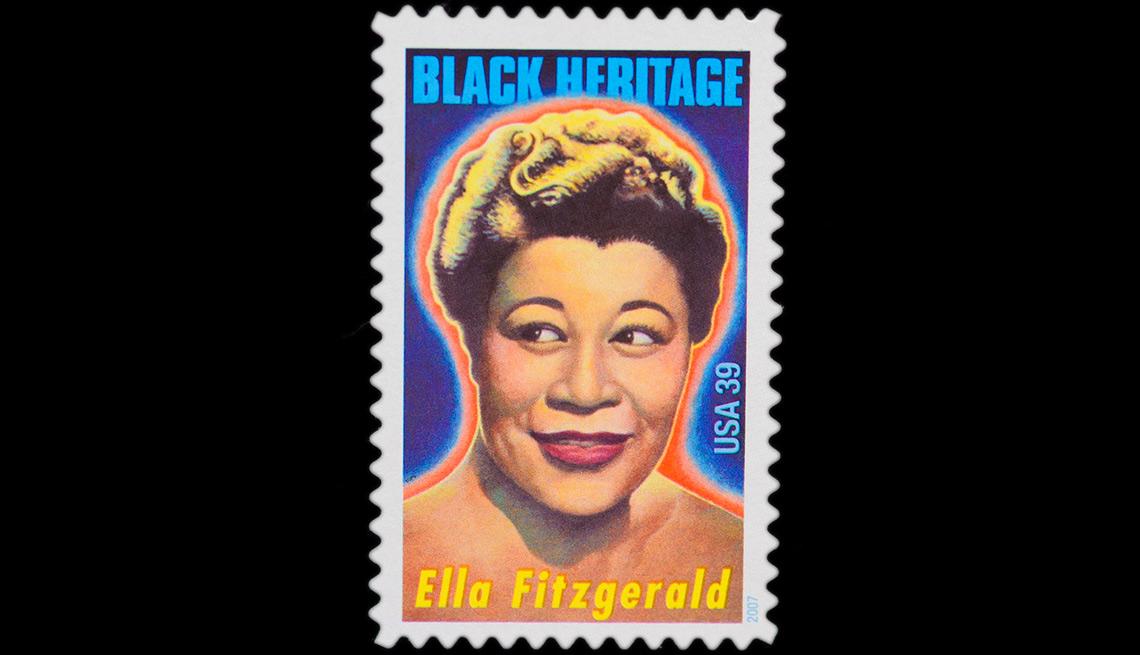 Ella Fitzgerald stamp