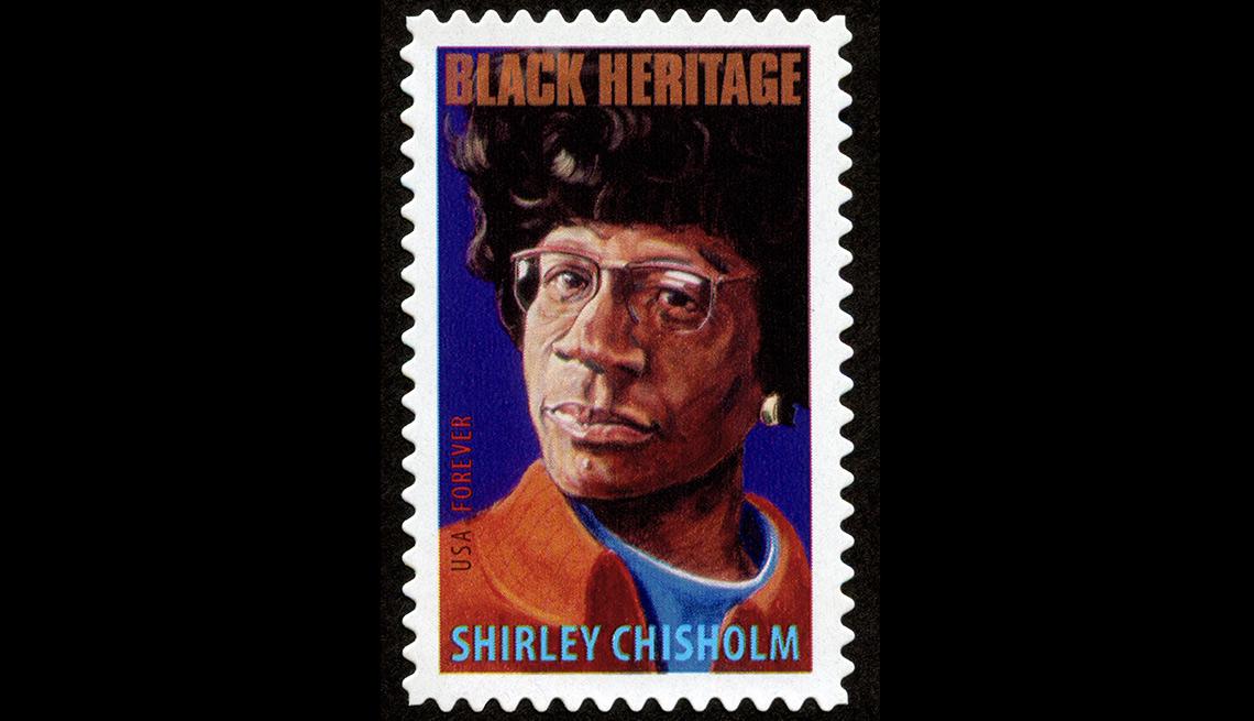 Shirley Chisholm stamp