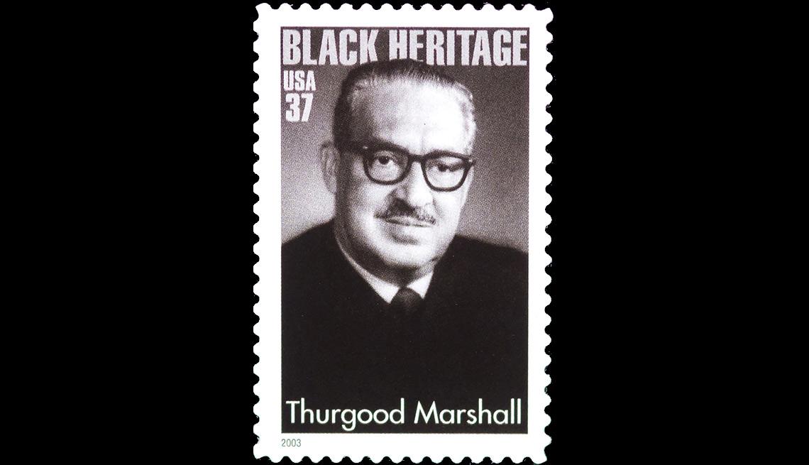 Thurgood Marshall stamp