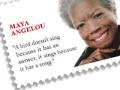 Maya Angelou Postage stamp