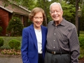 Portrait Rosalynn and Jimmy Carter, Conversation with Jimmy Carter