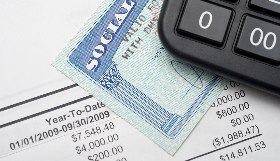 Social Security card, calculator, African-Americans, Retirement, Social Security