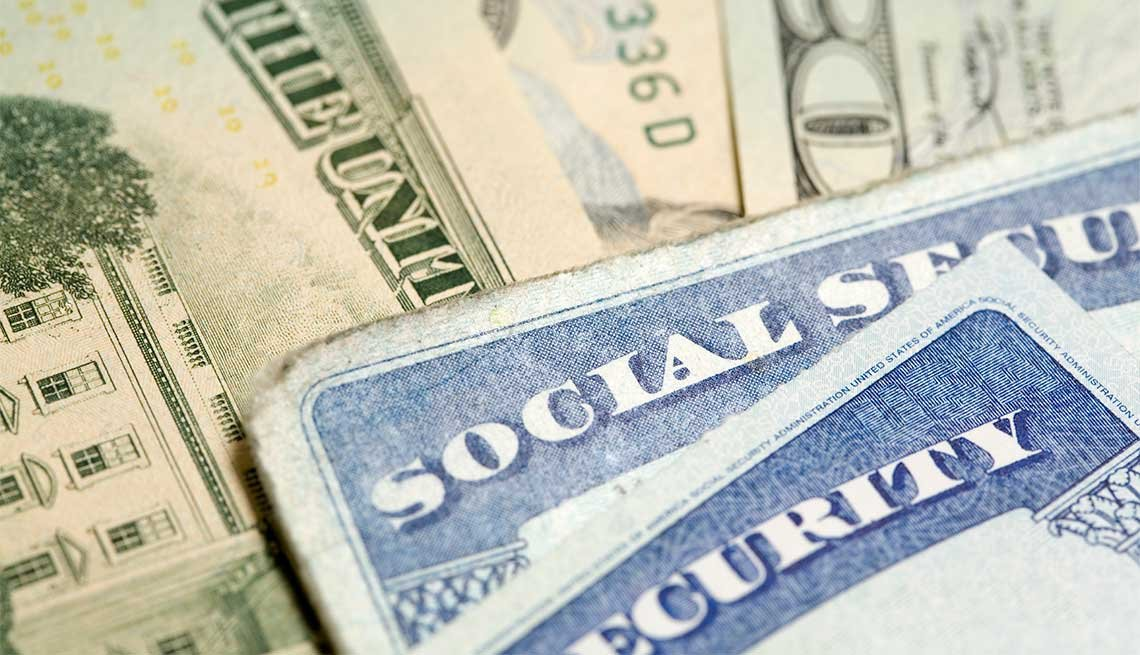Social Secutiry Cards and Money, COLA