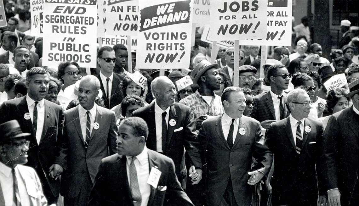 March on Washington for Jobs and Freedom, Washington DC, August 28, 1963,Voting Rights Act of 1965,