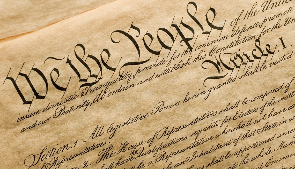 the U.S. Constitution, Voting Rights Act of 1965,