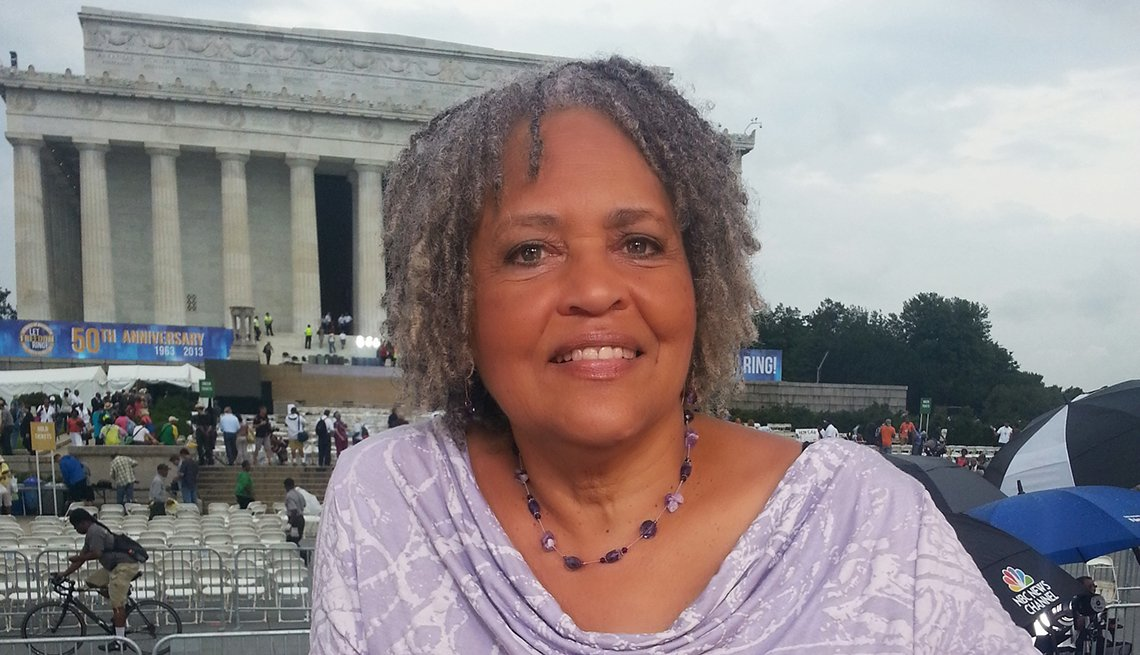 Charlayne Hunter-Gault, Journalist, Lincoln Memorial, Washington