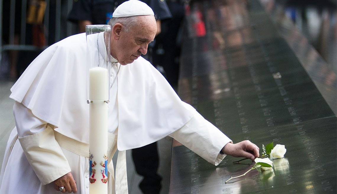 Pope Francis, Ground Zero