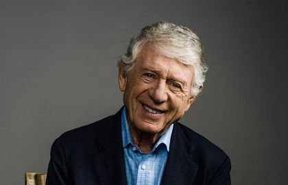 Veteran news anchor Ted Koppel at AARP studios in Washington, DC on July 14, 2015, Conversation with Ted Koppel