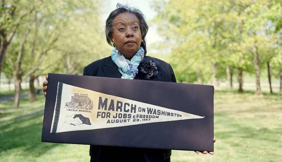 Edith Lee-Payne, March on Washington Then and Now