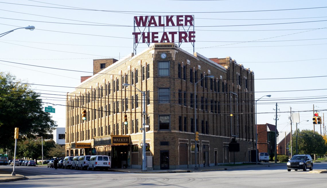 Madame C.J. Walker Building, 10 Great African-American Historic Sites