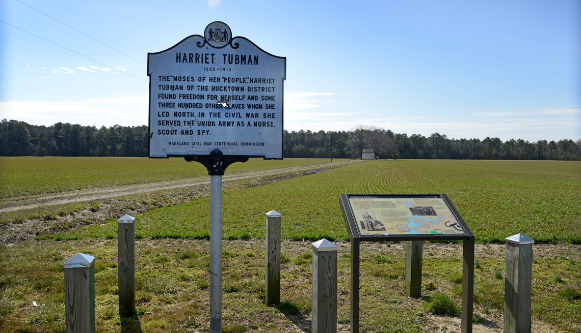 Harriet Tubman Historical Site, 10 Great African-American Historic Sites
