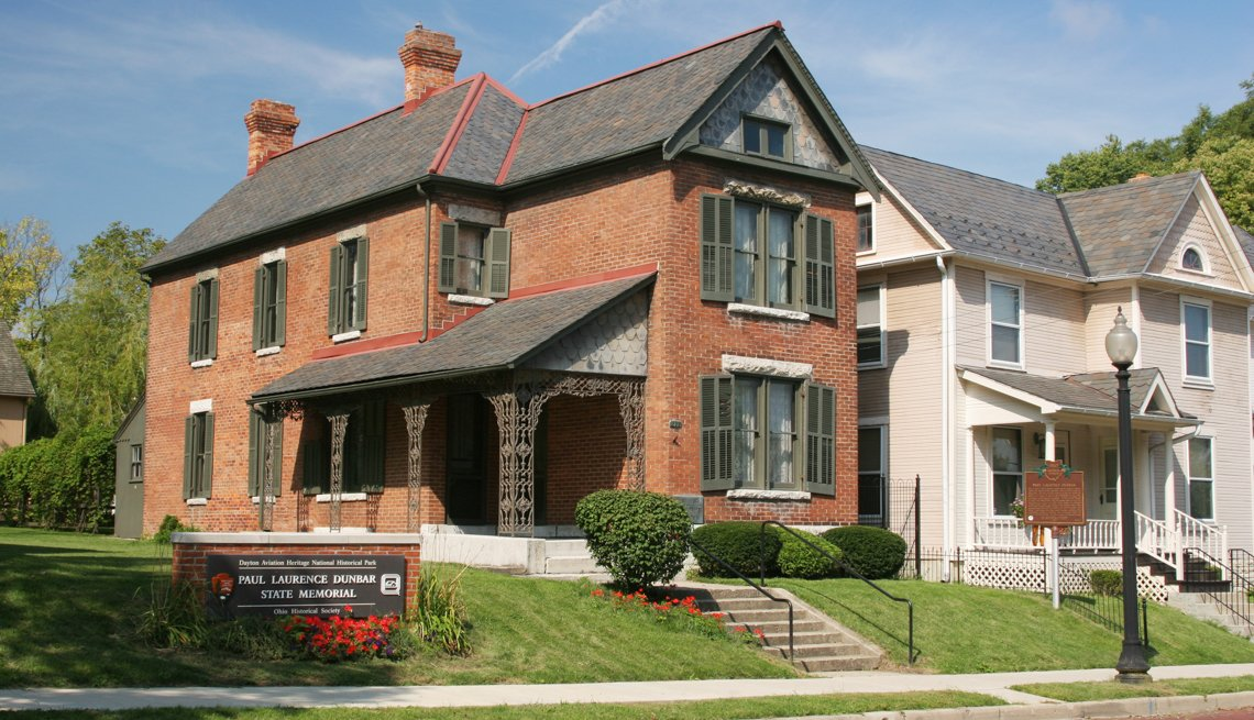Paul Laurence Dunbar House State Memorial, 10 Great African-American Historic Sites