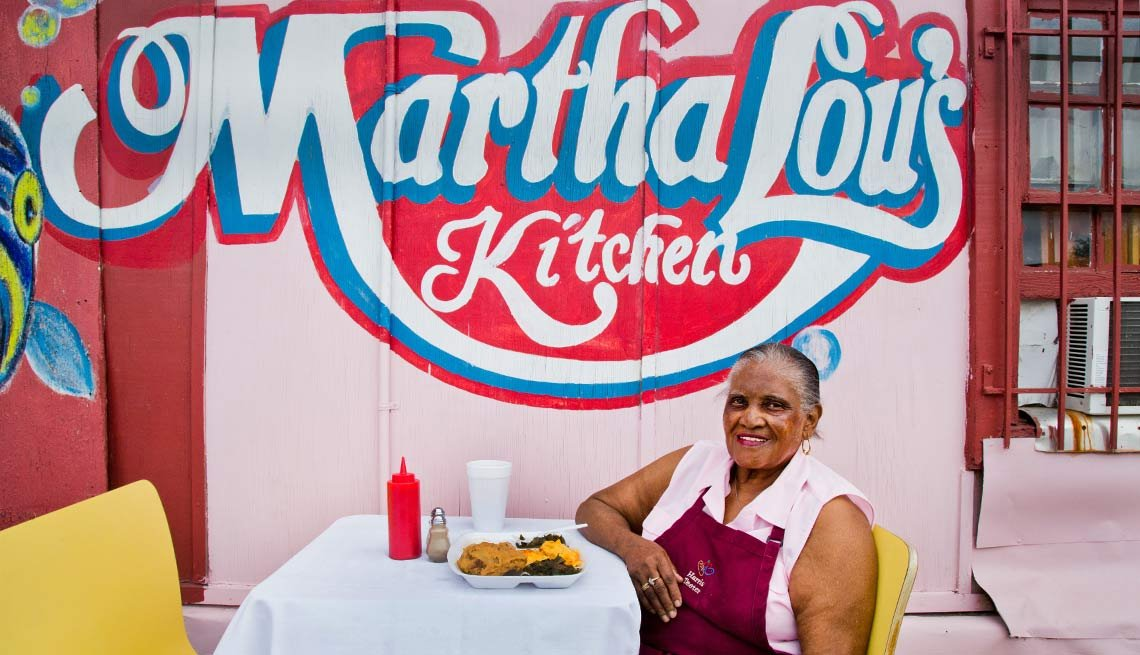 Martha Lou Gadsden owner of Martha Lou's Kitchen, Charleston, S.C