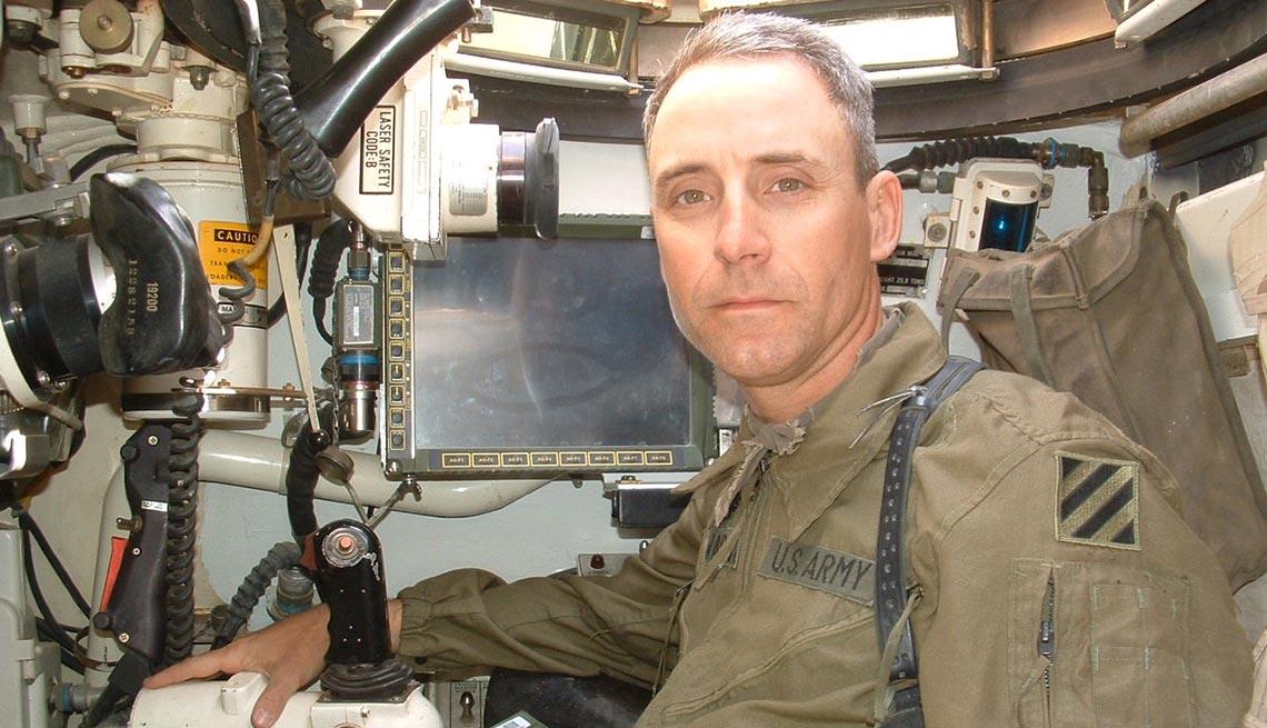 Battle I'll Never Forget, Eric Schwartz, Tank Commanders position, M1A1 Main Battle Tank