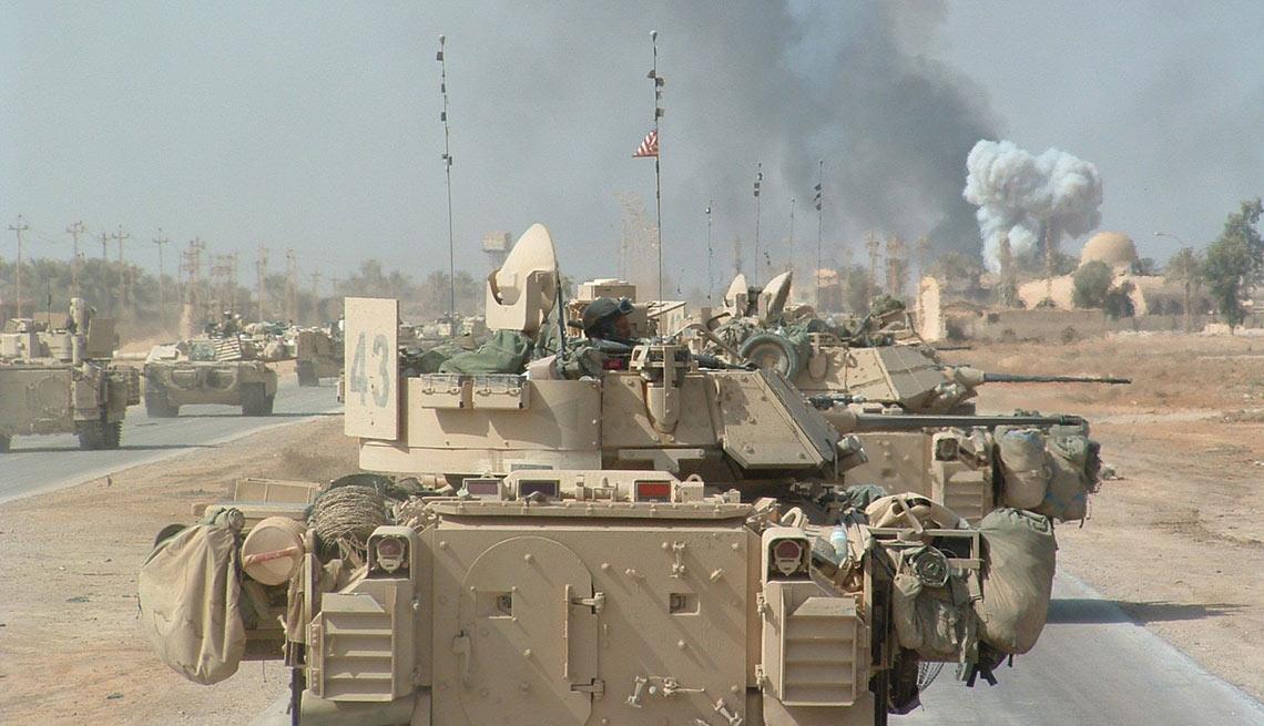 Eric Schwartz, Task Force Rogue, Baghdad, Iraq War, 2003, Battle I'll Never Forget