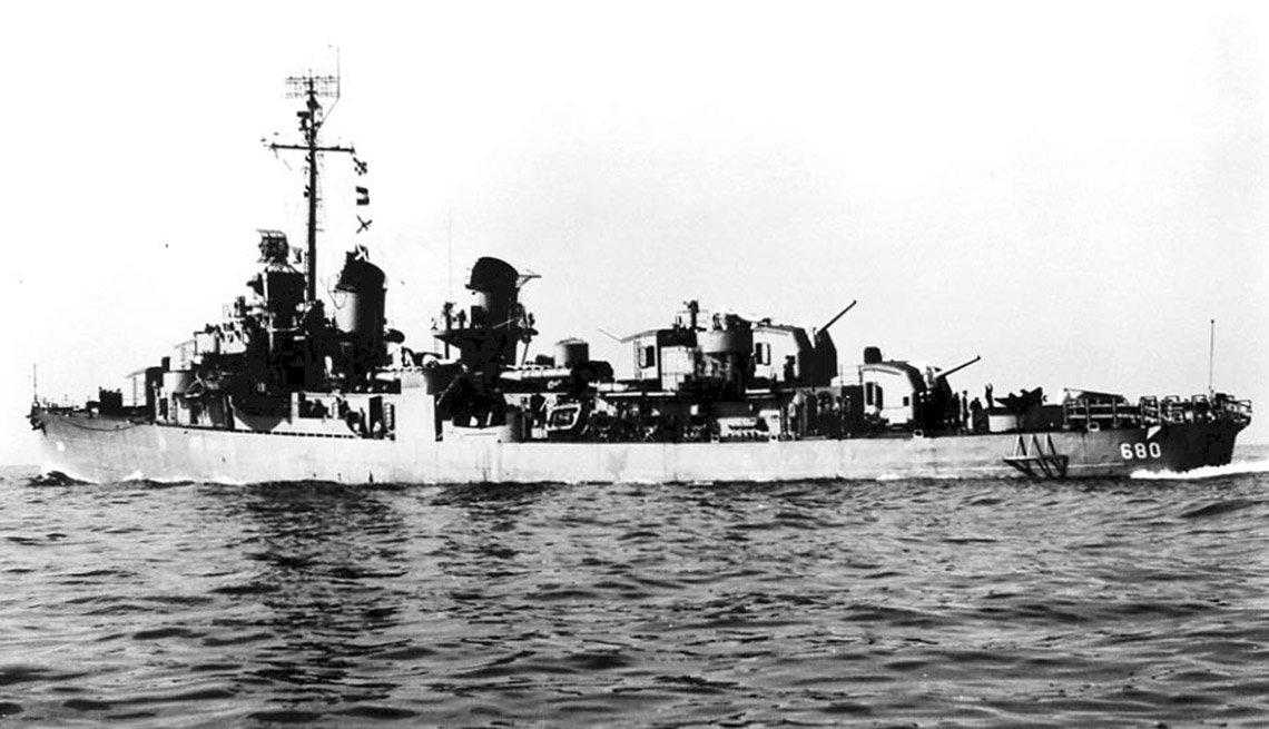 Battle I'll Never Forget USS Melvin