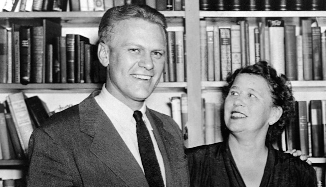 Gerald Ford with his mother, Dorothy Ayer Gardner Ford