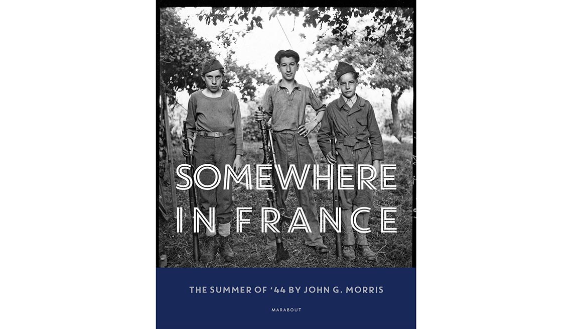 Photos and captions are from Somewhere in France by John G. Morris