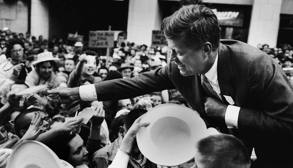 JFK Campaign trail 1960