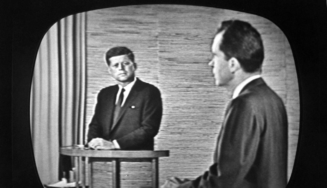 On Sept. 26, 1960, Kennedy and his Republican rival, Richard M. Nixon, made history during the nation's first televised presidential debate. Many credit the broadcast as being key to JFK's Election Day win.