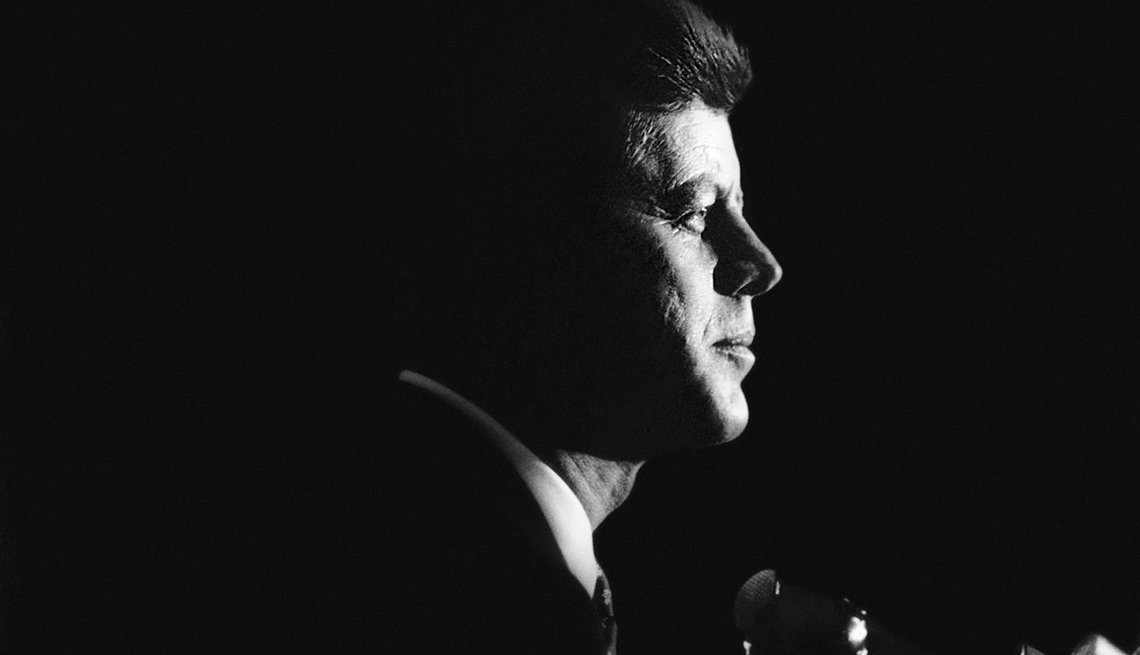President John Kennedy Profile
