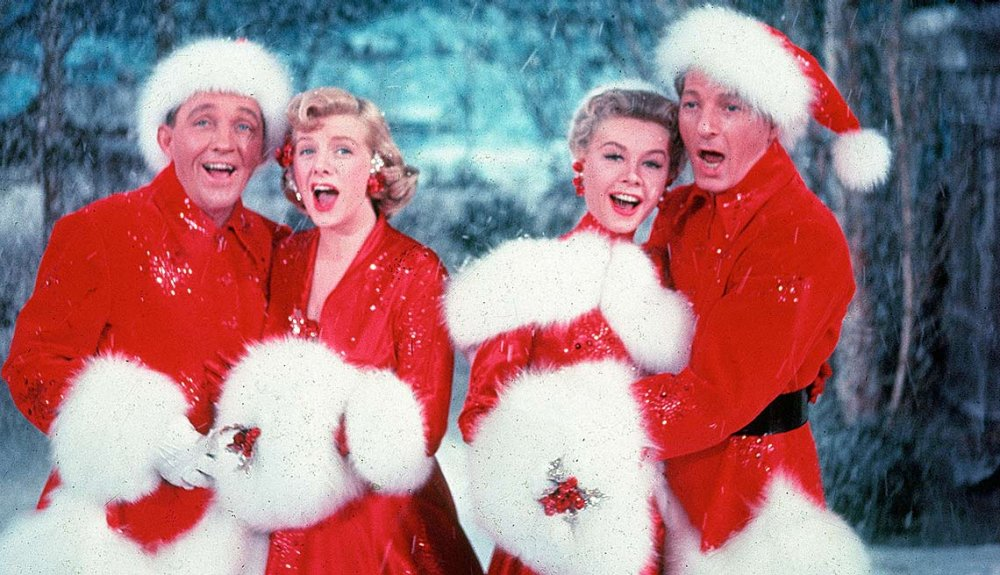 bing cosby rosemary clooney vera ellen and danny kaye sing the irving berlins song - White Christmas Song