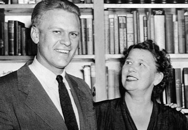 Gerald Ford junto a su mamá Dorothy Ayer Gardner Ford - Mamas de los presidentes de Estados Unidos