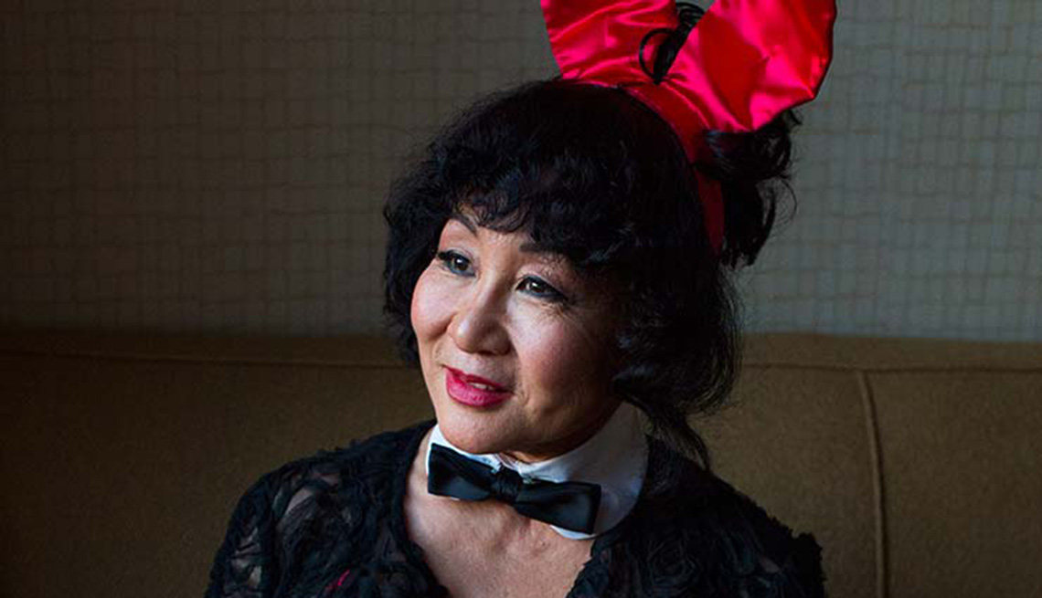 Playboy Bunny Reunion, 25 Years Later, Mieko Nakamura