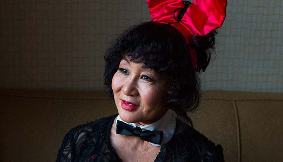 Playboy Bunny Reunion, 25 Years Later, Mieko Nakamura