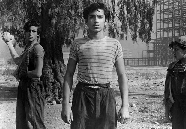 Escena de la película Los Olvidados, Luis Buñuel
