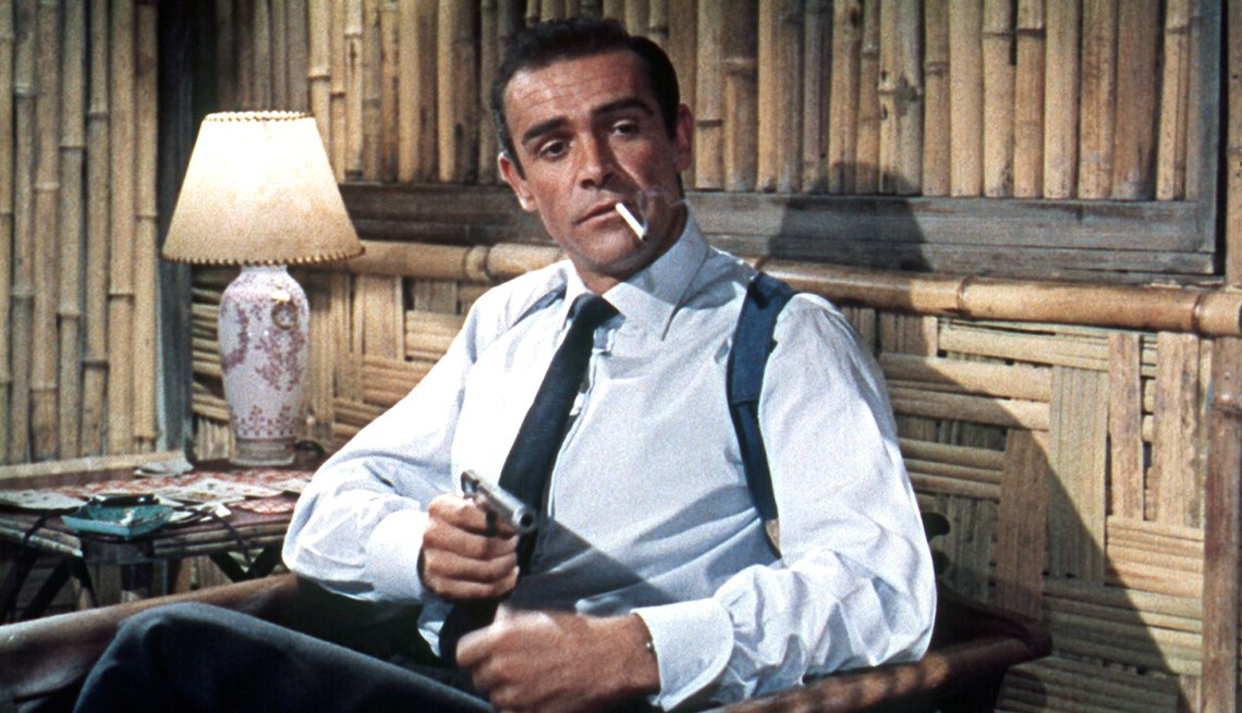 Still Of Actor Sean Connery In His Iconic Role As British Spy James Bond, Movies, 1963 Was a Year With Lasting Impact, AARP Politics, Events And History