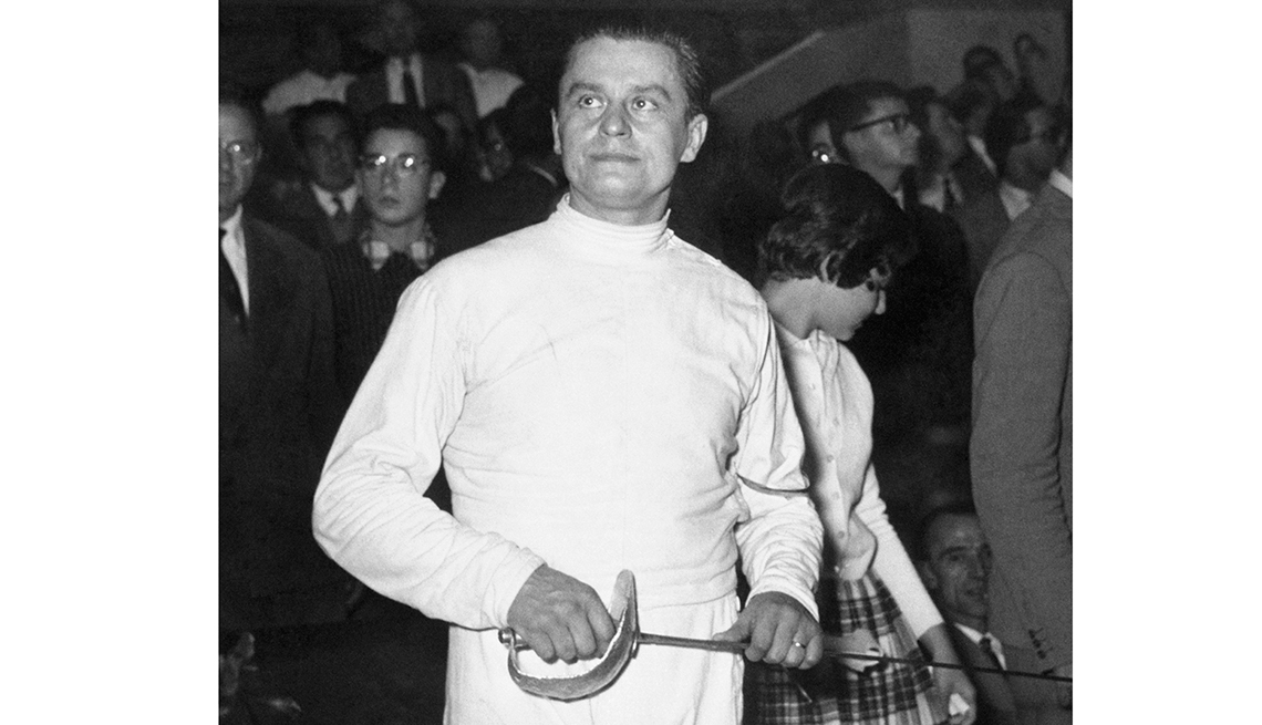 10 Great Older Olympians Who Went for the Gold - Aladar Gerevich, fencing