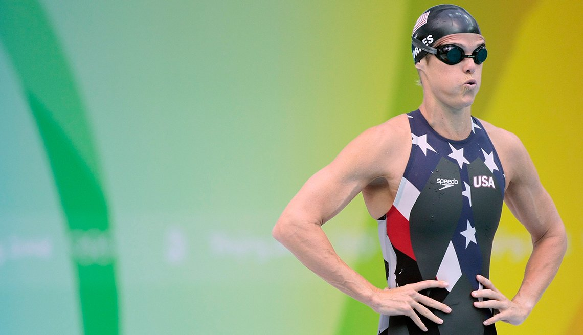 10 Great Older Olympians Who Went for the Gold -Dara Torres, swimming
