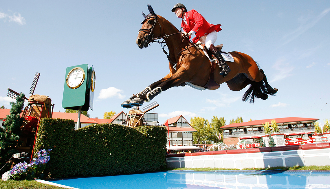 10 Great Older Olympians Who Went for the Gold - Ian Millar, equestrian