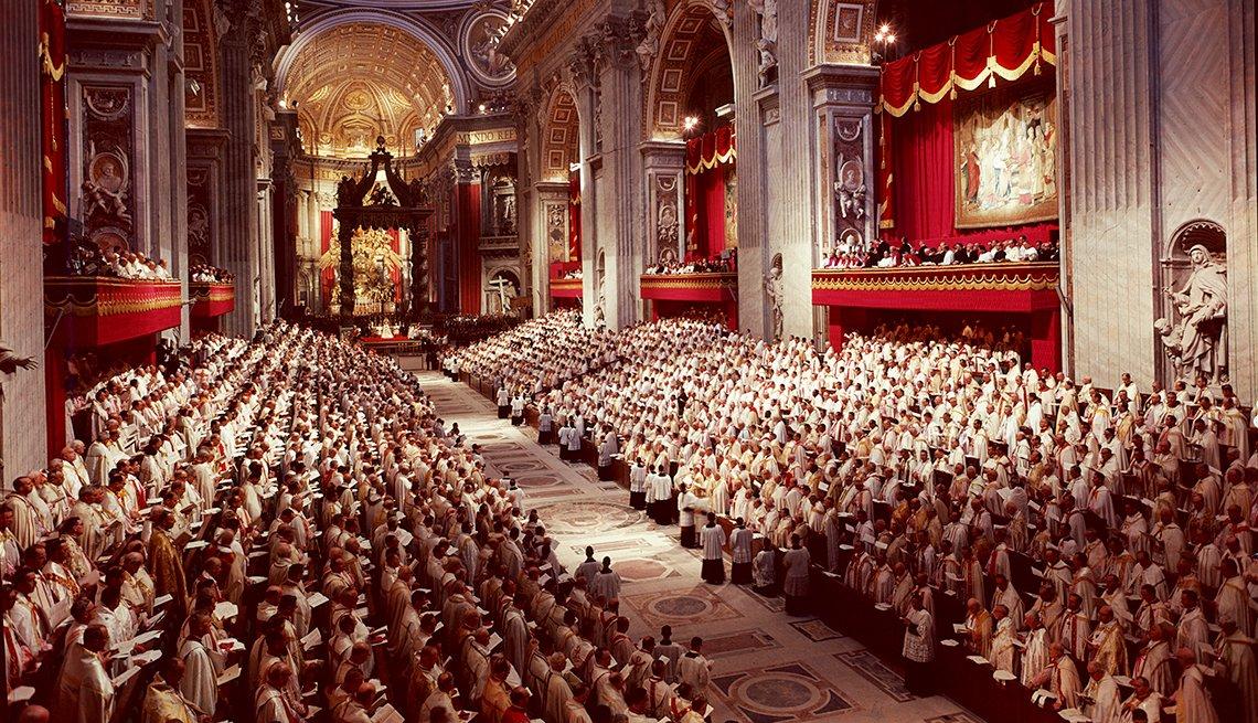 Juan XXIII convoca el Concilio Vaticano II
