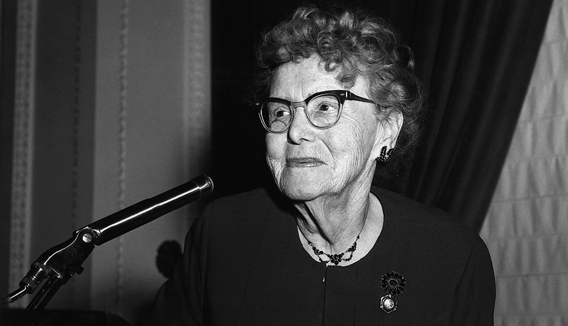 Ethel Percy Andrus, founder of AARP, Older Americans, Hall of Fame