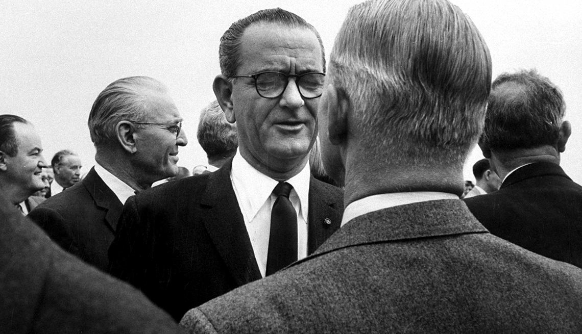 """the life and political career of president lyndon b johnson American president lyndon baines johnson addresses the nation on his first   as the 40th president of the united states, actor and politician ronald reagan   if you're thin on """"gipper"""" trivia, take a look at some facts about his life, his time in."""