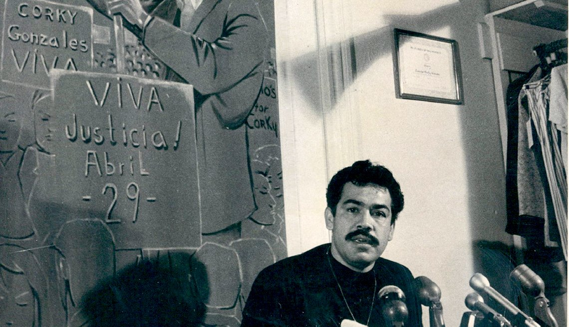 Rodolfo Gonzales, Movimiento Chicano