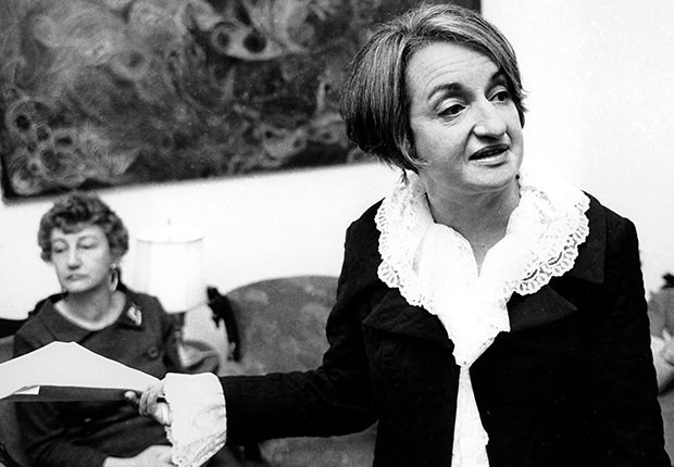 Betty Friedan, autora de 'The Feminine Mystique'