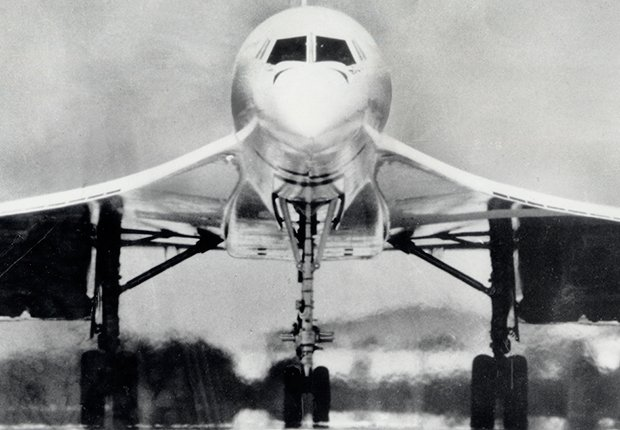 El primer vuelo del Concorde