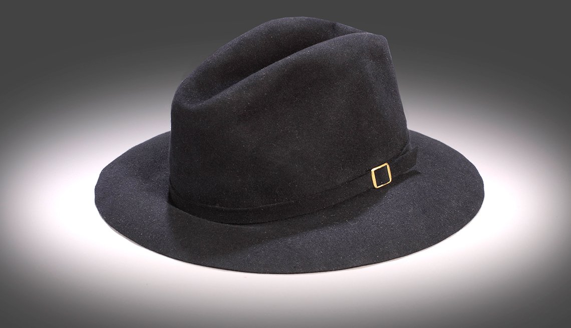 Michael Jackson sported this black fedora