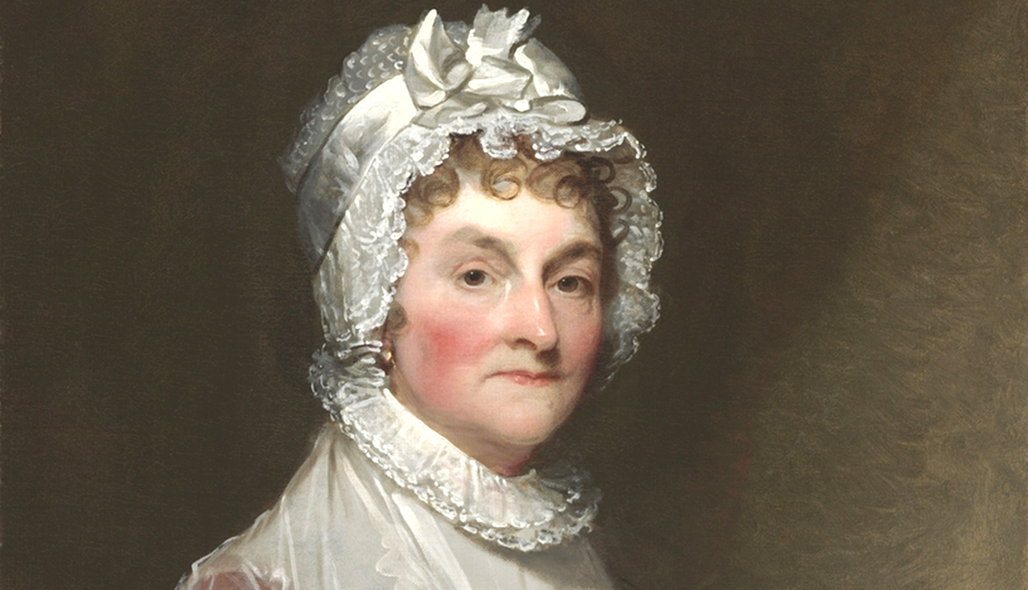 item 3 of Gallery image - Fun Facts About First Ladies Through History - Abigail Adams