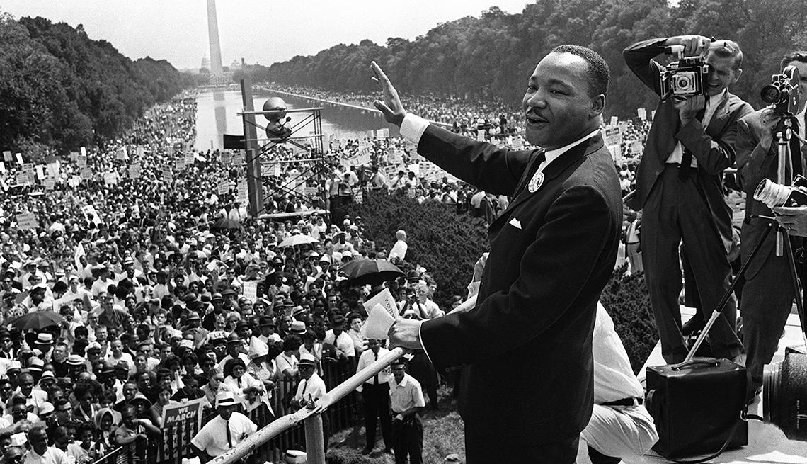 Martin Luther King Jr., pronuncia su conmovedor discurso 'Tengo un sueño'