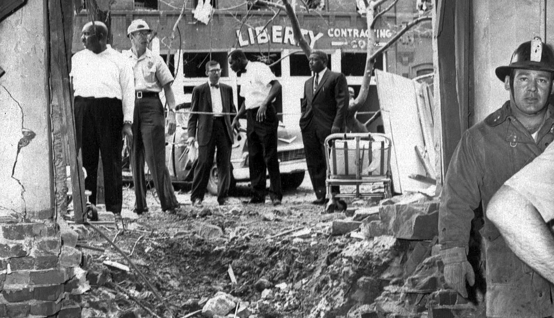 The Struggle for Civil Rights - CHURCH BOMBING