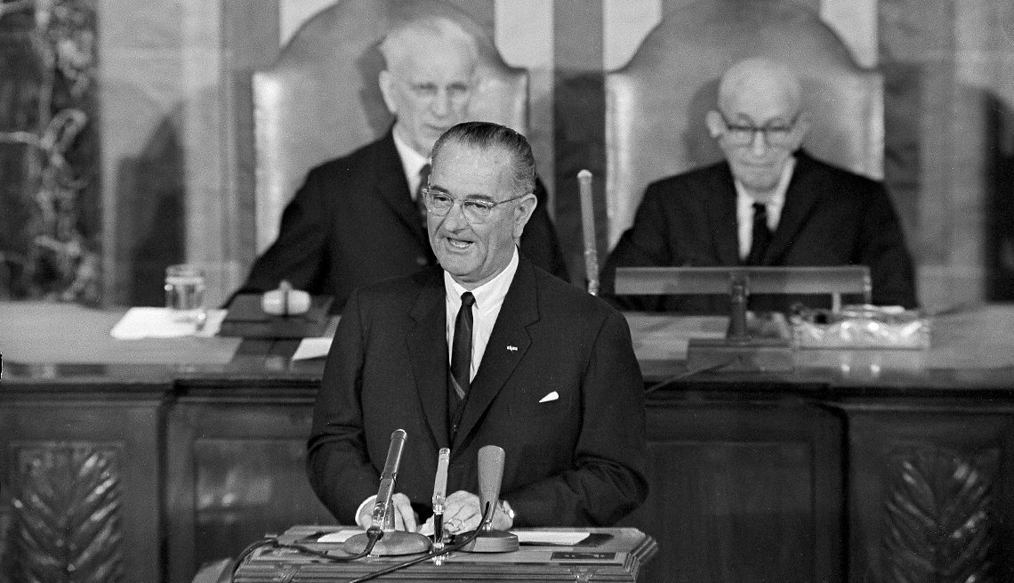The Struggle for Civil Rights - President Lyndon B. Johnson