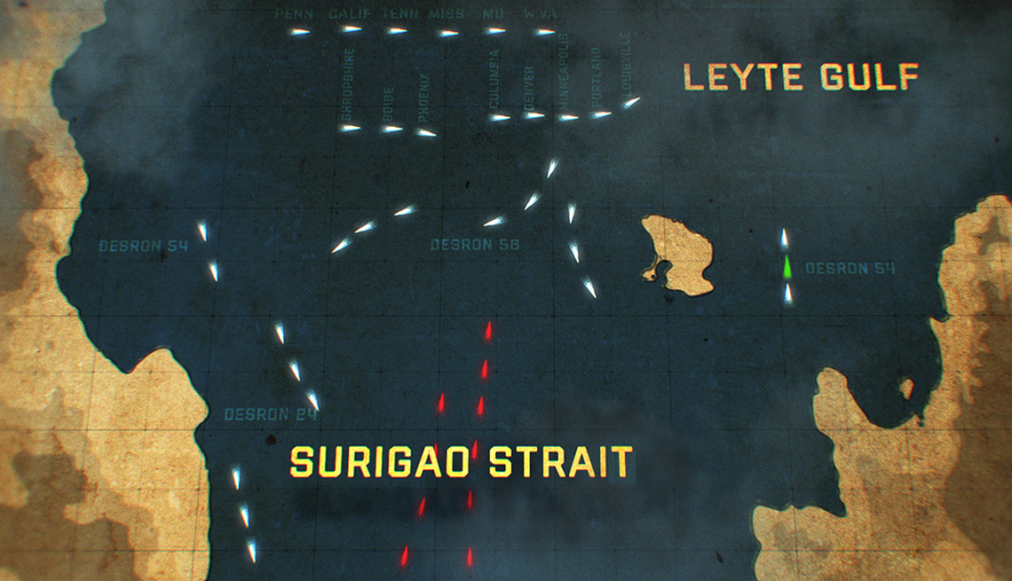 Battle I'll never forget - World War II — Battle of Surigao Strai