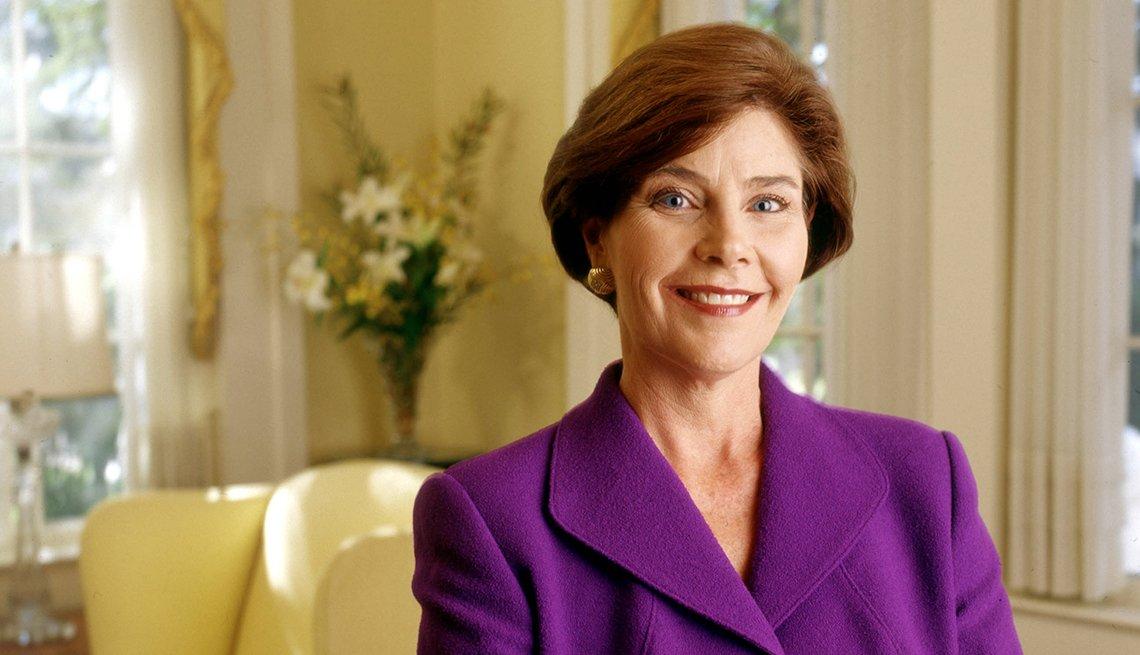 Laura Bush: exprimera dama de Estados Unidos (2000–2008)