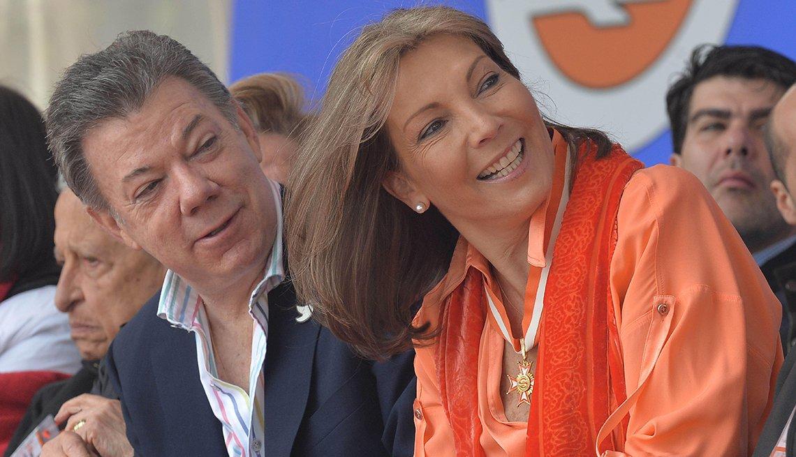 María Clemencia Rodríguez de Santos: actual primera dama de Colombia