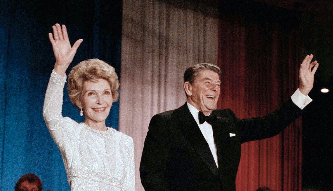 Nancy Davis Reagan, exprimera dama de Estados Unidos (1981-1989)